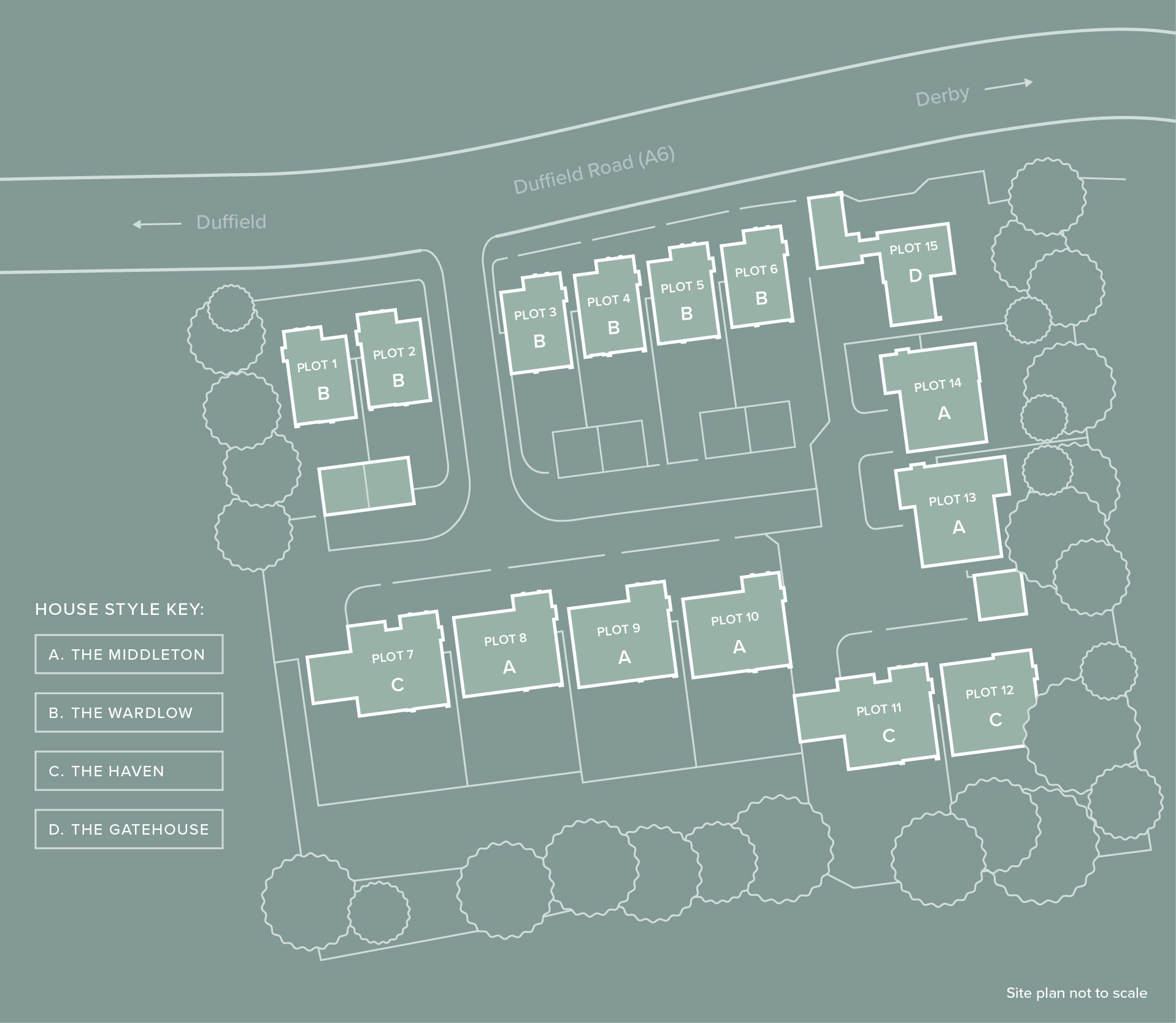 Burley View site plan